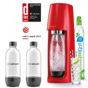 SODASTREAM Spirit Red + 2 ks lahví